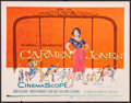"Movie Posters:Black Films, Carmen Jones (20th Century Fox, 1954). Title Lobby Card (11"" X14""). Black Films.. ..."