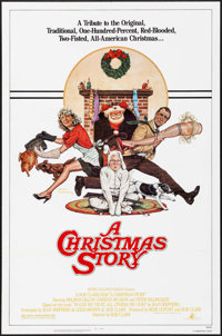 "A Christmas Story (MGM, 1983). One Sheet (27"" X 41"") Robert Tanenbaum Artwork. Comedy"