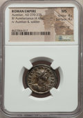 Ancients:Ancient Lots , Ancients: ANCIENT LOTS. Roman Imperial. Ca. AD 270-275. Lot of two(2) BI antoniniani. NGC MS, Silvering.... (Total: 2 coins)