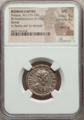 Ancients:Ancient Lots  , Ancients: ANCIENT LOTS. Roman Imperial. Probus (AD 276-282). Lot oftwo (2) BI antoniniani. NGC MS, Silvering.... (Total: 2 coins)