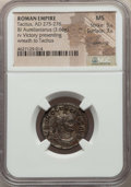 Ancients:Ancient Lots  , Ancients: ANCIENT LOTS. Roman Imperial. Ca. AD 275-276. Lot of two(2) BI antoniniani. NGC AU-MS, Silvering. ... (Total: 2 coins)