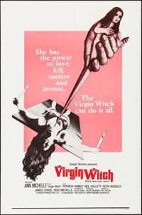"""The Virgin Witch & Other Lot (Joseph Brenner Associates, 1972). One Sheets (2) (26.25"""" X 41"""" &..."""