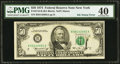 Error Notes:Ink Smears, Ink Smear. Fr. 2118-B $50 1974 Federal Reserve Note. PMG Extremely Fine 40.. ...