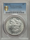 1893-O $1 -- Cleaning -- PCGS Genuine Secure. AU Details. NGC Census: (154/1680 and 0/13+). PCGS Population: (312/2202 a...