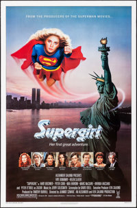 "Supergirl & Others Lot (Tri-Star, 1984). One Sheets (4) (26.75"" X 39.75 - 27"" X 41""). Adventure..."
