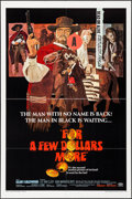 """Movie Posters:Western, For a Few Dollars More (United Artists, 1967) Folded, Fine/Very Fine. One Sheet (27"""" X 41""""). David Blossom Artwork. Western...."""