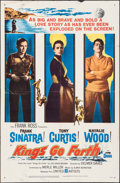 "Movie Posters:War, Kings Go Forth (United Artists, 1958). One Sheet (27"" X 41""). War....."