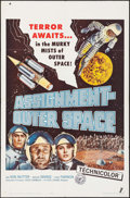 """Movie Posters:Science Fiction, Assignment Outer Space (Four Crown, 1962). One Sheet (27"""" X 41"""").Science Fiction.. ..."""