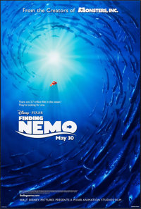 "Finding Nemo (Disney, 2003). One Sheet (27"" X 40"") DS Advance. Animation"