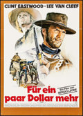 "Movie Posters:Western, For a Few Dollars More (Tobis, R-1978). German A1 (23.25"" X 33"") Renato Casaro Artwork. Western.. ..."