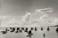Werner Bischof (Swiss, 1916-1954) Harbour of Kowloon, Hong Kong, 1952 Gelatin silver, printed later<