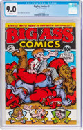 Bronze Age (1970-1979):Alternative/Underground, Big Ass Comics #2 (Rip Off Press, 1971) CGC VF/NM 9.0 White pages....