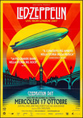 "Movie Posters:Rock and Roll, Led Zeppelin: Celebration Day (Omniverse Vision, 2012). Italian 2 -Fogli (39.5"" X 55""). Rock and Roll.. ..."