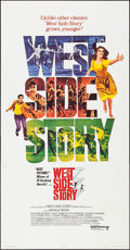 "Movie Posters:Academy Award Winners, West Side Story (United Artists, R-1968). Three Sheet (41"" X 79""). Academy Award Winners.. ..."