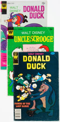 Bronze Age (1970-1979):Miscellaneous, Donald Duck and Uncle Scrooge Variants Short Box Group (Whitman,1970s-80s) Condition: Average VG-....
