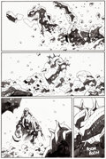 Original Comic Art:Panel Pages, Mike Mignola Hellboy: In the Chapel of Moloch #nn Story Page22 Original Art (Dark Horse, 2008)....