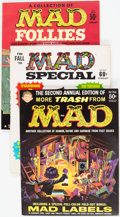 Magazines:Mad, MAD Related Titles Group of 24 (EC, 1950s-70s) Condition: AverageFN.... (Total: 24 Comic Books)