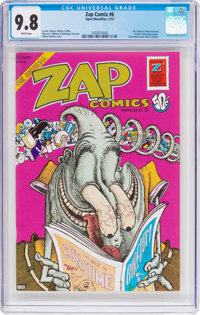 Zap Comix #6 (Apex Novelties, 1973) CGC NM/MT 9.8 White pages