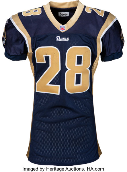 huge discount 59048 59328 2001 Marshall Faulk Game Worn St. Louis Rams Jersey - Photo ...