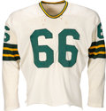 Football Collectibles:Uniforms, 1959-61 Ray Nitschke Game Worn Green Bay Packers Jersey. . ...