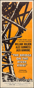 "Movie Posters:War, The Bridge on the River Kwai (Columbia, 1958). Insert (14"" X 36""). War.. ..."
