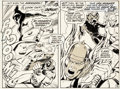 Original Comic Art:Panel Pages, John Buscema and Tom Palmer Avengers #76 Page 13 OriginalArt (Marvel, 1970)....