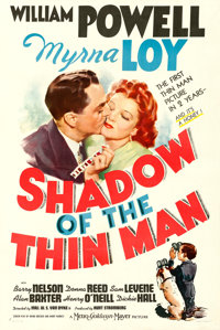 "Shadow of the Thin Man (MGM, 1941). One Sheet (27"" X 41"") Style C"
