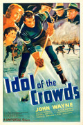 "Movie Posters:Sports, Idol of the Crowds (Universal, 1937). One Sheet (27"" X 41"").. ..."