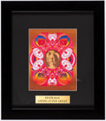 Miscellaneous Collectibles:General, Peter Max American Pop Artist Marilyn Monroe Print....