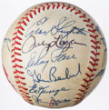 Autographs:Baseballs, National Old Timers Classic Multi-Signed Baseball (16 Signatures).....