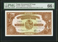 World Currency, Tonga Government of Tonga 4 Shillings 27.9.1966 Pick 9d.. ...