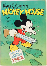 Four Color #27 Mickey Mouse (Dell, 1943) Condition: FN+