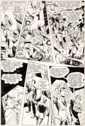 Original Comic Art:Panel Pages, Steve Ditko Beware the Creeper #4 Page 17 Original Art (DC,1968)....