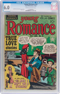 Golden Age (1938-1955):Romance, Young Romance Comics #12 (Prize, 1949) CGC FN 6.0 Cream tooff-white pages....
