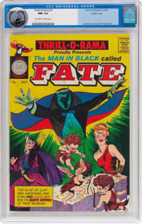 Thrill-O-Rama #1 Pacific Coast Pedigree (Harvey, 1965) CBCS NM 9.4 Off-white to white pages