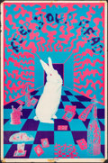 "Movie Posters:Rock and Roll, White Rabbit ""Keep Your Head"" (East Totem West, 1967). Rolled,Fine+. Psychedelic Poster (23"" X 35"") First Printing, Joe McH..."