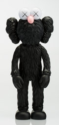 Fine Art - Sculpture, American:Contemporary (1950 to present), KAWS (b. 1974). BFF (Black), 2017. Painted cast vinyl.13-1/2 x 5 inches (34.3 x 12.7 cm). Open Edition. Stamped on the...