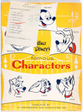 Memorabilia:Disney, Lady and the Tramp Retail Point of Sale Kit (Walt Disney Productions, 1955)....