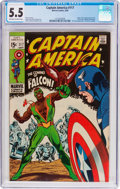 Silver Age (1956-1969):Superhero, Captain America #117 (Marvel, 1969) CGC FN- 5.5 Off-white to white pages....