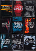 """Movie Posters:James Bond, James Bond Book Lot (Penguin, 2002). Hardcover Books (14) (Multiple Pages, 5.25"""" X 7.5"""") First Printing. James Bond.. ... (Total: 14 Items)"""