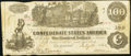 Confederate Notes:1862 Issues, T39 $100 1862 PF5 Cr. 290.. ...