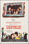 """Movie Posters:Drama, The Diary of Anne Frank (20th Century Fox, 1959). One Sheet (27"""" X 41""""). Drama.. ..."""