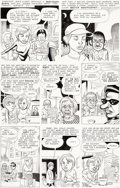 Original Comic Art:Panel Pages, Daniel Clowes Eightball #13 Story Page 3 Original Art(Fantagraphics, 1994)....