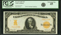 Large Size:Gold Certificates, Fr. 1172 $10 1907 Gold Certificate PCGS Extremely Fine 45.. ...