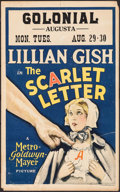 """Movie Posters:Drama, The Scarlet Letter (MGM, 1926). Window Card (14"""" X 22""""). Drama....."""