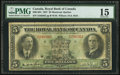 Canadian Currency, Montreal, PQ- Royal Bank of Canada $5 Jan. 3, 1927 Ch # 630-14-04.....