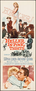 "Movie Posters:Western, Heller in Pink Tights & Other Lot (Paramount, 1960). Insert(14"" X 36"") & Half Sheet (22"" X 28""). Western.. ... (Total: 2Items)"