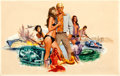 "Movie Posters:Sexploitation, The Seducers by Jack Thurston (Cinemation Industries, 1970).Original Movie Artwork (30"" X 19"").. ..."