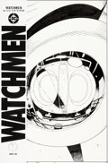 Original Comic Art:Covers, Dave Gibbons Watchmen #7 Nite Owl's Hovercraft Cover Original Art (DC, 1987)....