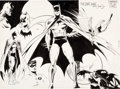 Original Comic Art:Illustrations, Denis Sire - Batman and Robin Illustration Original Art(undated)....